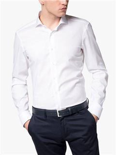 Eterna Slim Fit Dress Shirt White
