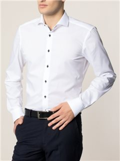 Eterna Slim Fit Shirt White