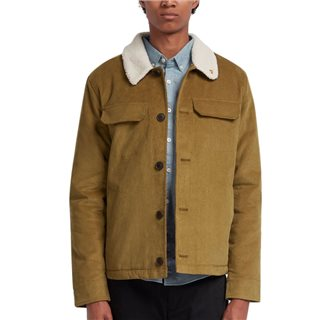 Farah Canvas Borg Lined Kingsland Corduroy Jacket
