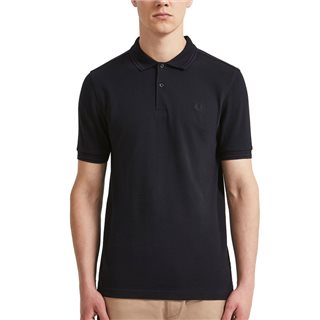 Fred Perry Navy Twin Tipped Polo
