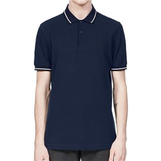 Fred Perry Carbon Blue Twin Tipped Polo