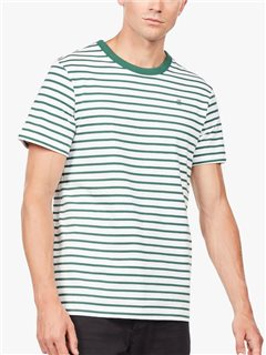 G-Star Xartto Submarine Stripe T-Shirt White / Loden