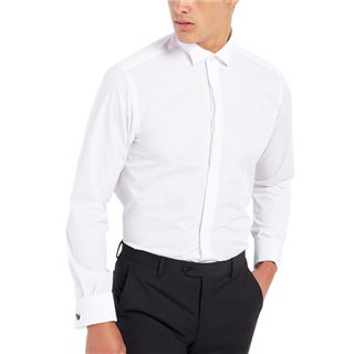 Remus Uomo Tapered Fit Wing Collar Shirt
