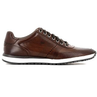 Gordon And Bros Milano Trainer Brown