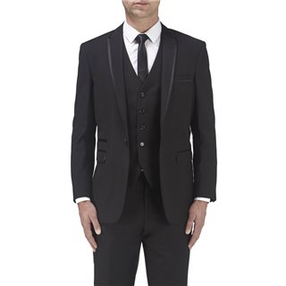 Skopes Ronson Tailored Tux Jacket Black