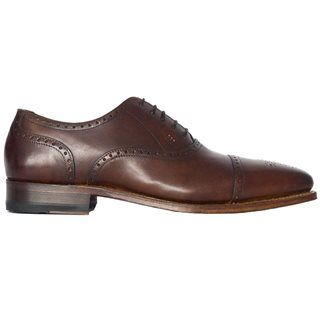Gordon And Bros Lucquin Brogue British Tan