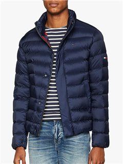 Tommy Jeans Down Filled Puffer Jacket Black Iris