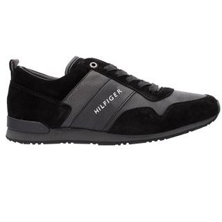 Tommy Hilfiger Footwear Black Iconic Lace Up Trainers