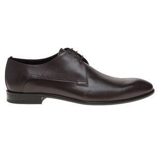 BOSS Dark Brown Derb Shoe