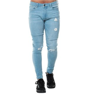 Level 1 Stone Rip & Repair Skinny Jean