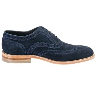 Loake Shoes Radley Brogue Navy