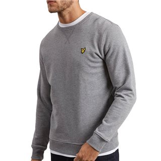 Lyle & Scott Mid Grey Marl Crewneck Sweater