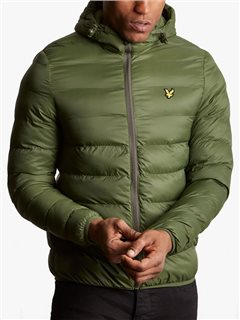 Lyle & Scott Lightweight Puffer Jacket Woodland Pine