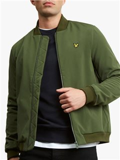 Lyle & Scott Softshell Bomber Jacket Woodland Pine