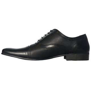 Red Tape Potton Dress Shoe Black