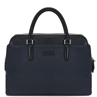 Remus Uomo Leather-Trimmed Briefcase