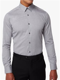 Remus Uomo Remus Ashton Slim Fit Dress Shirt Grey
