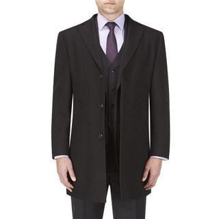 Skopes Euston Black Overcoat