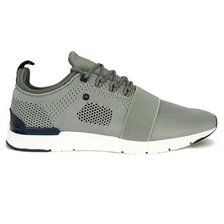 Tommy Bowe Footwear Ash Concept Knitted Strapped Trainer