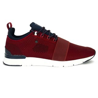 Tommy Bowe Footwear Blood Shot Concept Knitted Strapped Trainer