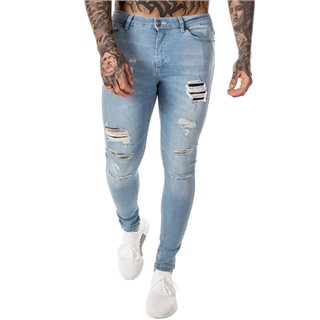 11 Degrees Stone Rip & Repair Skinny Jeans