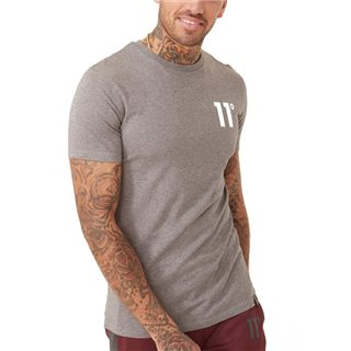 11 Degrees Charcoal Core Crew Neck T-Shirt