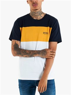 Diesel Reilly Crew Neck T-Shirt Citrus