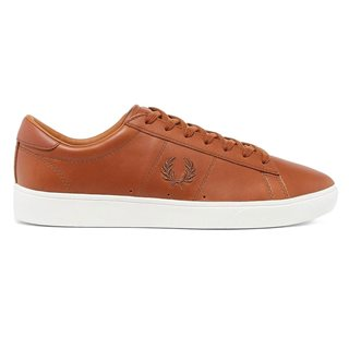 Fred Perry Spencer Waxed Leather Tan