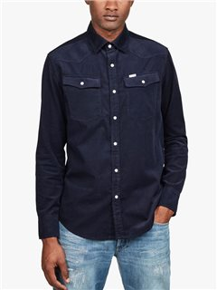 G-Star 3301 Slim Shirt Sartho Blue Heather