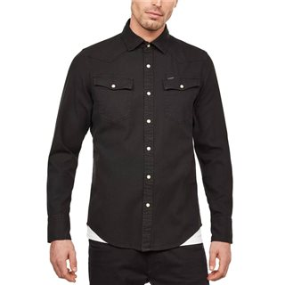 G-Star Black Ultra Diamond Denim Shirt