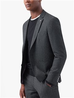 Remus Uomo Clothing Remus Slim Fit Blazer Charcoal
