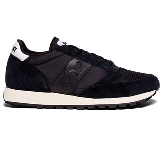 Saucony Black Jazz Original Vintage Trainer