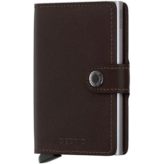 Secrid Dark Brown Original Miniwallet