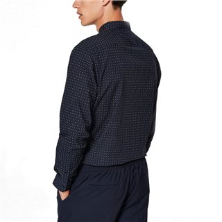 Selected Homme Dark Sapphire Blink Pattern Shirt