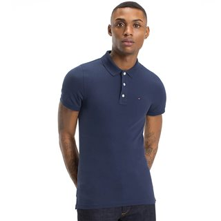 Tommy Jeans Black Iris Basic Polo