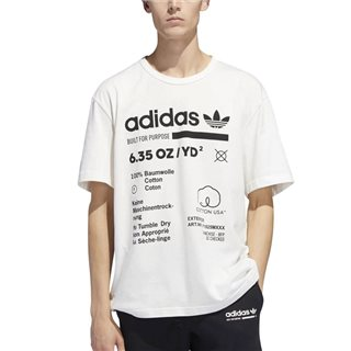 adidas Originals White/Black Kaval Graphic T-Shirt