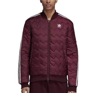 adidas Originals Maroon Sst Quilted Jacket