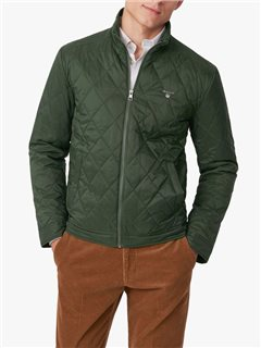 Gant Quilted Windcheater Jacket Green