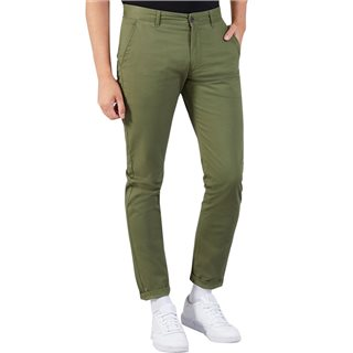 Farah Military Green Elm Twill Chino