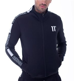 11 Degrees Black Optum Poly Track-Top