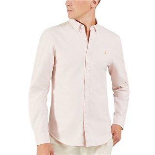Farah Pink Brewer Slim Shirt