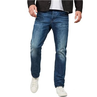 G-Star Medium Aged 3301 Straight Fit Jeans