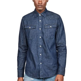 G-Star 3301 Slim Fit Denim Shirt