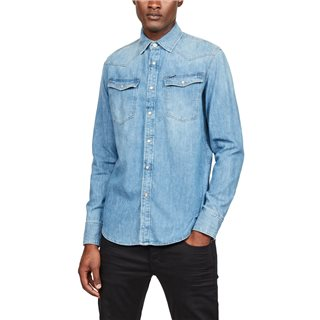G-Star Medium Aged 3301 Slim Fit Denim Shirt