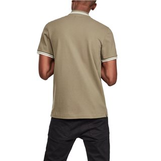 G-Star Dark Shamrock Dunda Slim Tipped Polo Shirt