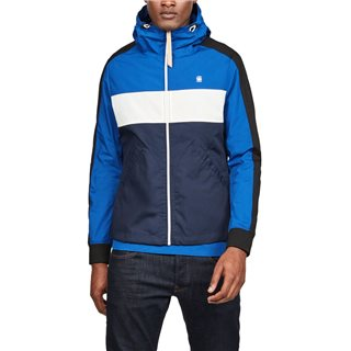 G-Star Sartho Blue Setscale Cb Hooded Jacket