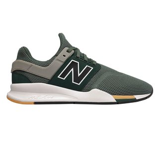 New Balance Green 247 Knit Trainer