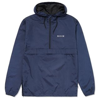 Nicce Navy Nice Core Cagoule Jacket