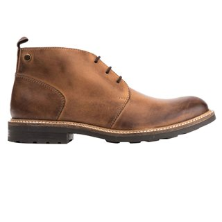 Base London Tan Tully Chukka Boot