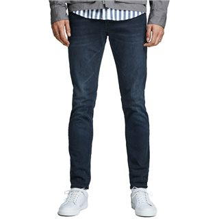 Jack & Jones Intelligence  Black Denim Glenn Felix Am 458 Slim Fit Jeans